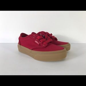 Vans Atwood Canvas Chili Pepper Gum Sneakers